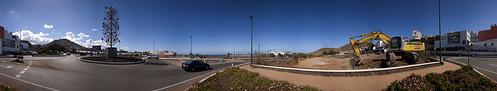 Rotonda de Cardones, Trasmontaña y El Carril. Arucas. Isla de Gran Canaria