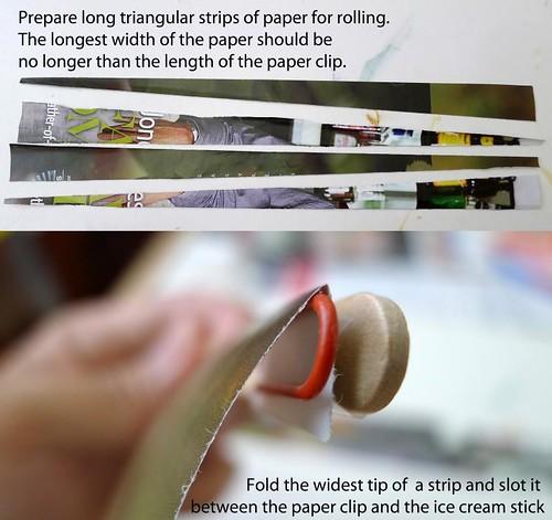 Paper bead tweedler