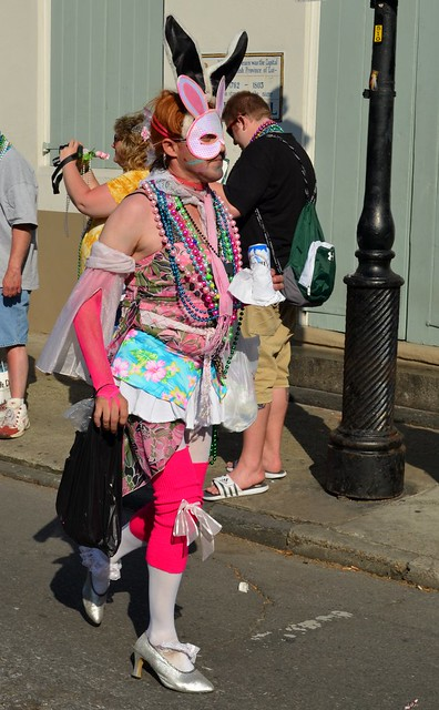 Photo of the New Orleans Gay Easter Parade in the French Quarter of New ...