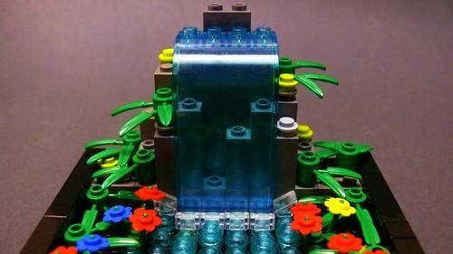 LEGO Waterfall (2)