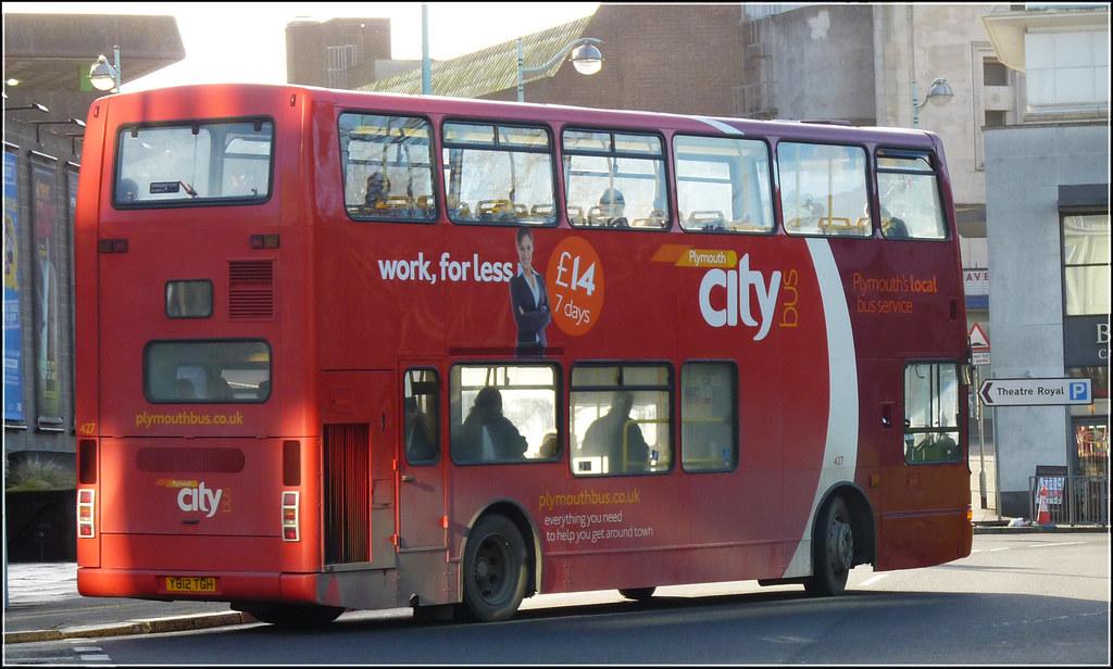 Plymouth Citybus 427 Y812TGH