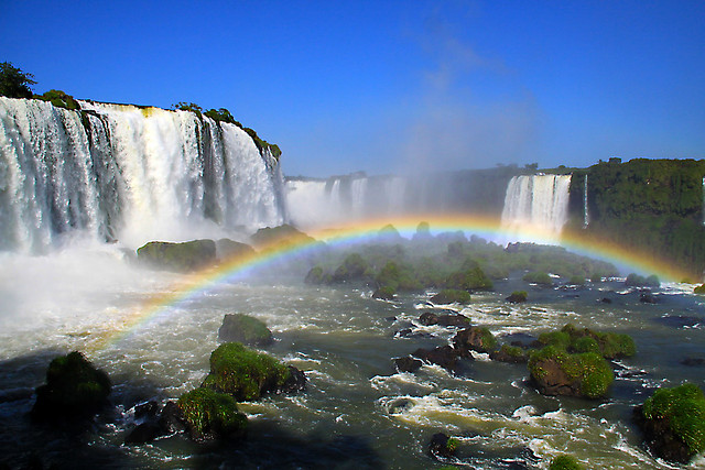 Iguazu Falls one of the 7 wonders of the world - EXPLORE.