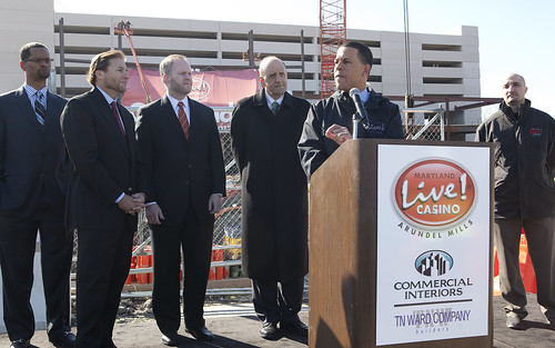 Maryland Live! Casino Topping Off Ceremony