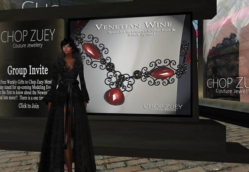 Chop Zuey Gift Venetian Wine Bracelet by Cherokeeh Asteria