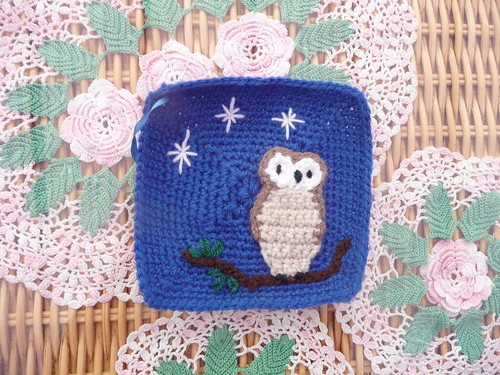 pippa-anne (UK) Owl Challenge. What a cutie! I love him. Thank you pippa-anne!