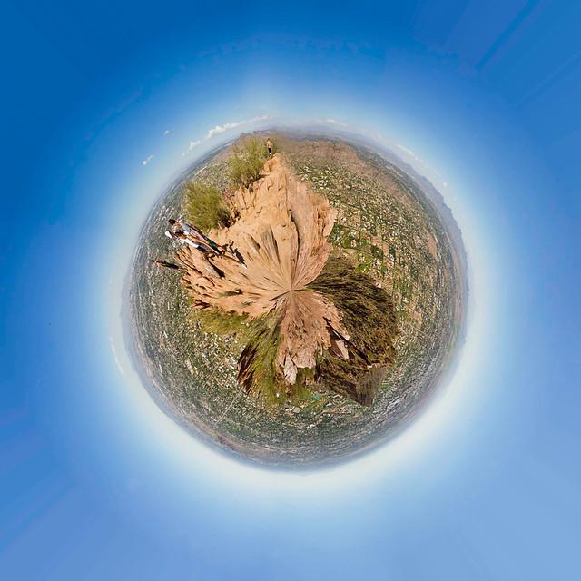 Camelback Mt. Polar Panorama