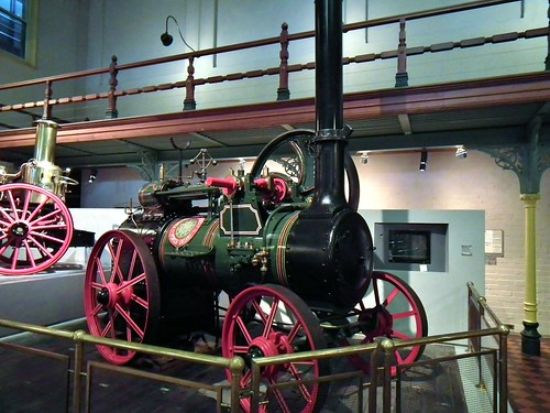 Ransome, Sims & Jefferies portable steam engine