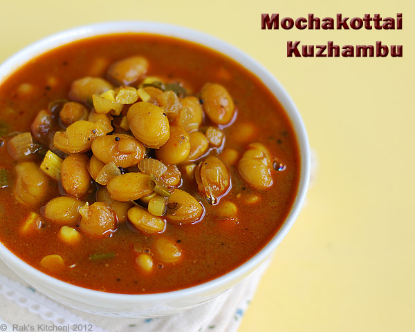 Mochakottai-curry