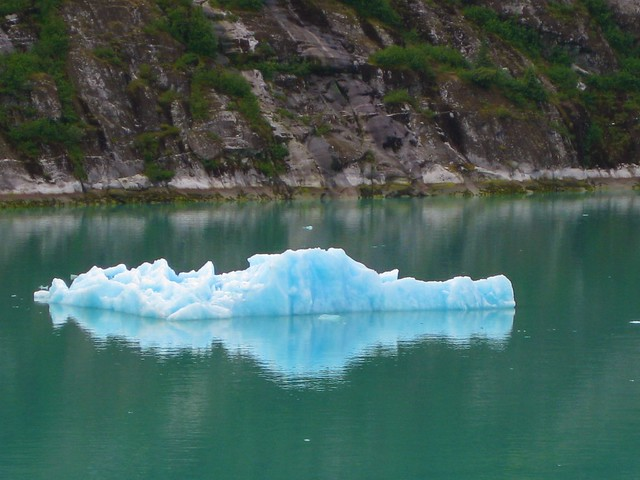 Iceberg, Tracy Arm Fjord, Alaska