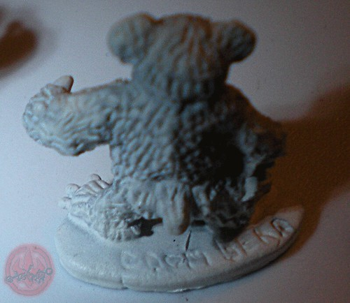 "Dark Horse Miniatures :: TEENAGE MUTANT NINJA TURTLES - ""The Terror Bears"" { 15 mm } / DOOM BEAR ii  (( 1986 ))"