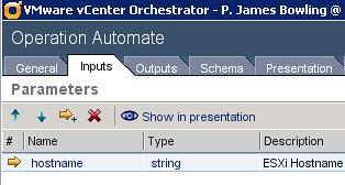 Workflow Input Parameters