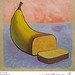 Banana Bread food painting for the vegetarian recipes cookbook by Australian artist Fiona Morgan