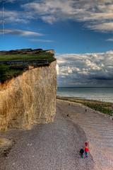 Cliffs east of Birling Gap