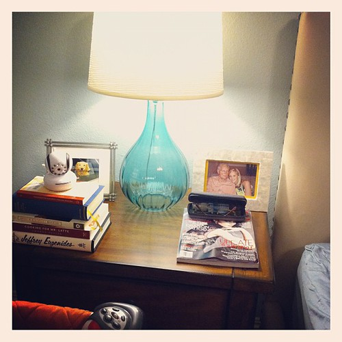 {Day 4: Bedside Table} #marchphotoaday