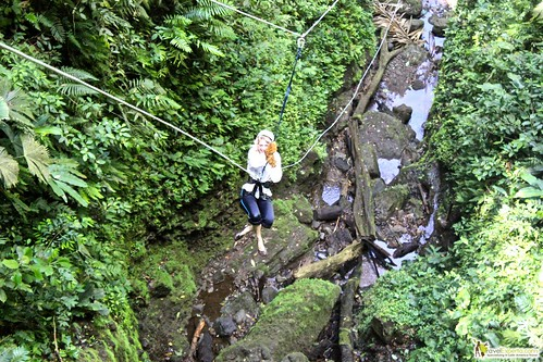 canyoneering waterfall rappelling la fortuna arenal costa rica