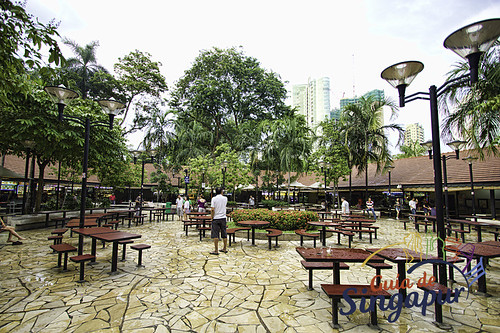 Newton Food Centre, Singapore