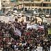 Protesting against Assad crimes in Binnish, Idlib