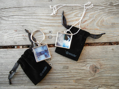 Zazzle Keychain & Necklace _ 7781