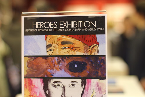 HEROES Exhibition at Room 237