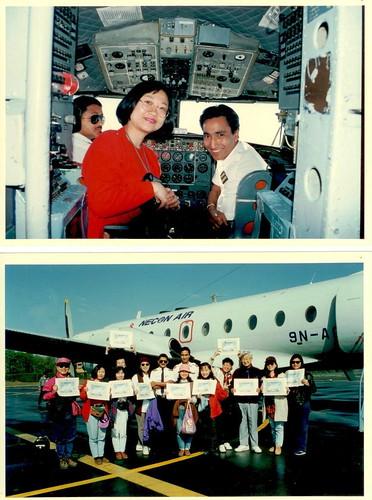尼泊爾小飛機