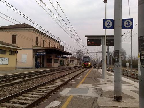 L'arrivo del treno a Cassano by durishti