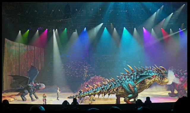 how to train your dragon arena spectacular full show