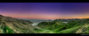 moonrise panorama | san luis reservoir, ca by elmofoto