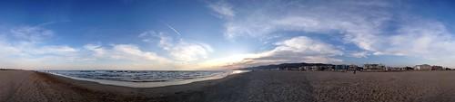 Playa Castelldefels photosynth