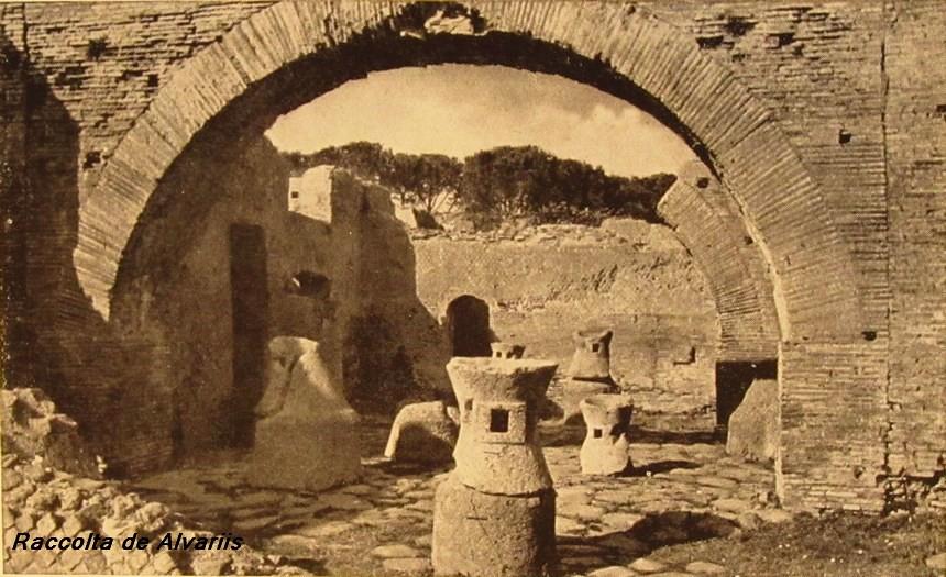 1940 ca 2012 Ostia antica Mulino