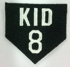 Gary Carter's Memorial Uniform Patch