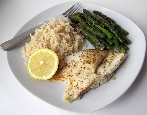 Lemon Pepper Tilapia & Asparagus