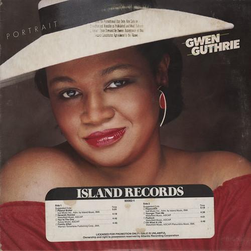 Gwen Guthrie – Portrait - front
