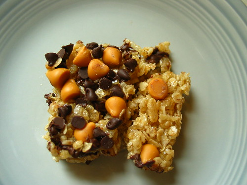 Chocolate Butterscotch Granola Bar