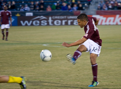 GOAL!!!! Rapids vs. Crew 2012 Quincy Amarikwa by CE's Photography