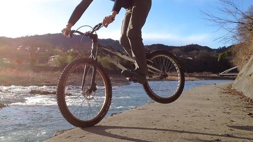 自転車ってなんて楽しいんだ。