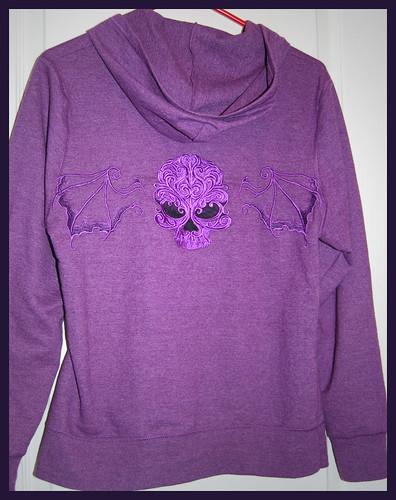 Skull Wing Sweatshirt 1