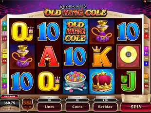 Rhyming Reels Old King Cole slot game online review