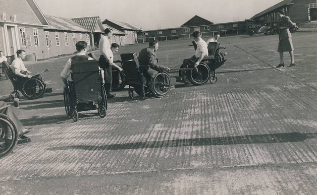 wheelchair polo at Stoke Mandeville