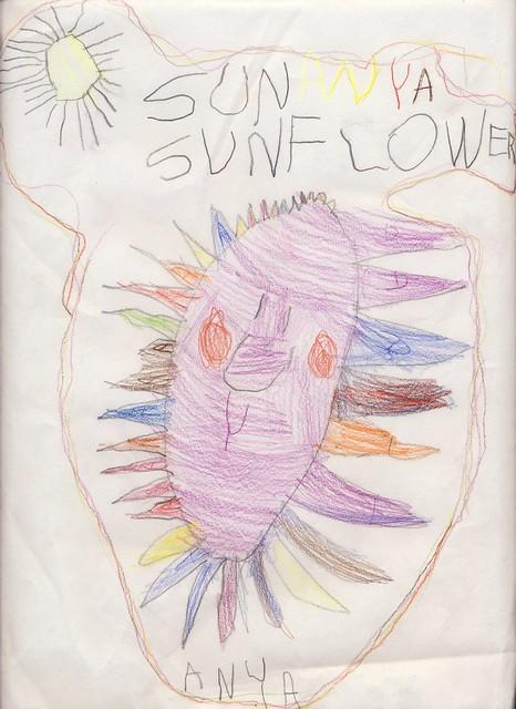 Anya's sunflower
