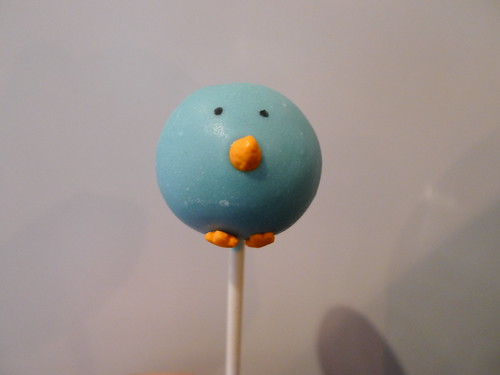 Blue Chick Cakje Pop