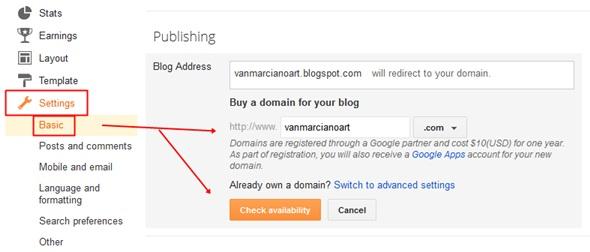 customize your blogger blog