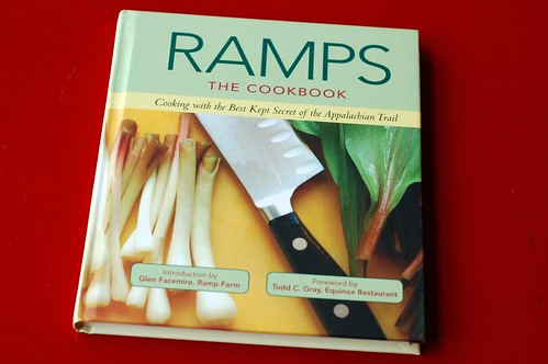 The new Ramps Cookbook - my photo is on the cover! by Eve Fox, Garden of Eating blog, copyright 2012
