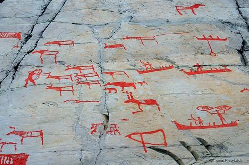 Alta rock carvings norway spottinghistory