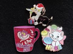 My Disney cats Pins!