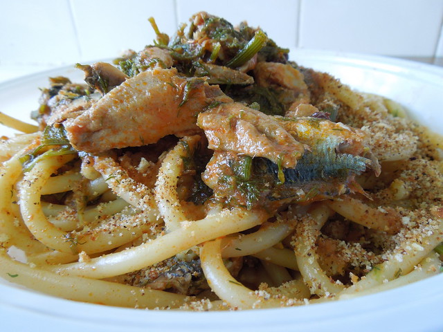 Pasta con le sarde (Pasta with Sardines) | Flickr - Photo Sharing!