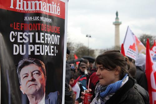 """""""Le Front de Gauche, c'est le front du peuple"""""""