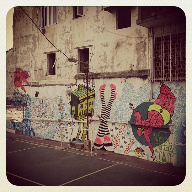 Graffiti in Casco, neighbouring the future #communitygarden