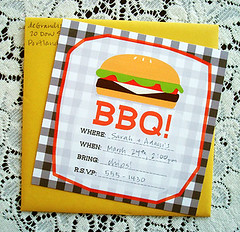 Free BBQ invites