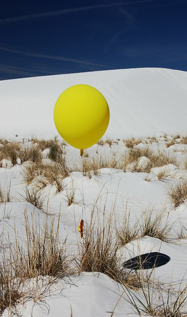 balloon at the sands