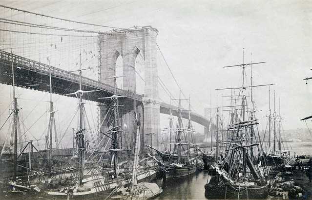 Brooklyn Bridge circa 1883